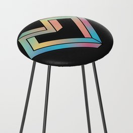 le coeur impossible (nº 4) Counter Stool