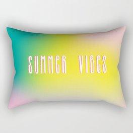 Summer vibes in pastels Rectangular Pillow