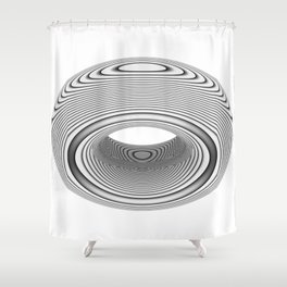PsyDonut Shower Curtain