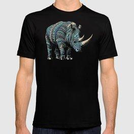 Rhinoceros (Color Version) T-shirt