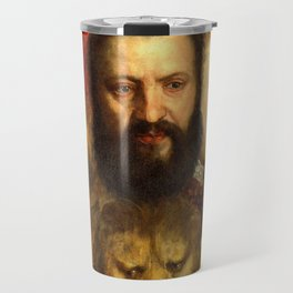 Titian The Allegory of Prudence Travel Mug