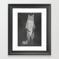 Fox Fur Framed Art Print
