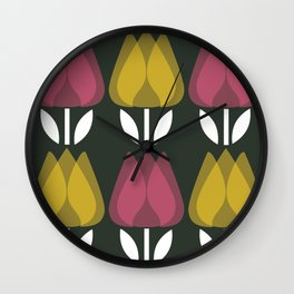 MCM Lovely Elizabeth Wall Clock