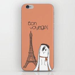 Bon Voyage! iPhone Skin