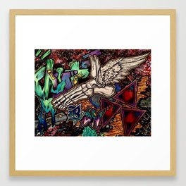 Out Run Framed Art Print