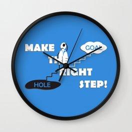 Next step Wall Clock