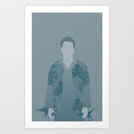 "Hoban ""Wash"" Washburn, Firefly Serenity Art Print"