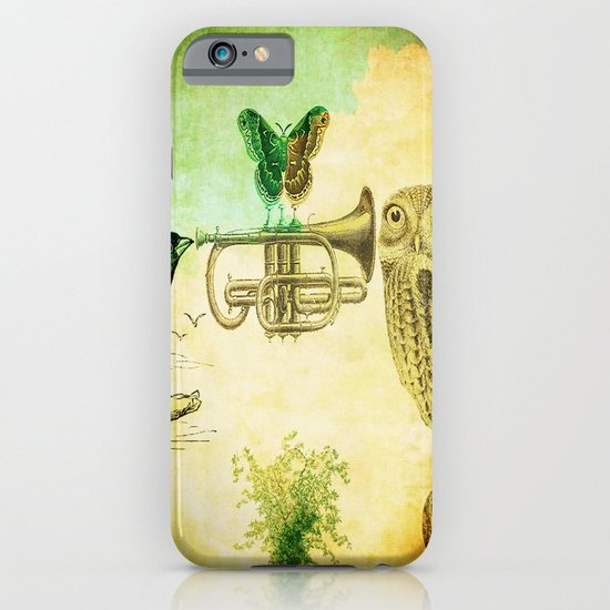 Music of birds iPhone & iPod Case