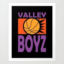 Phoenix Valley Boyz Retro Art Print