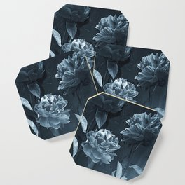 Blue Peonies Coaster