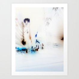 New York In Negative Art Print
