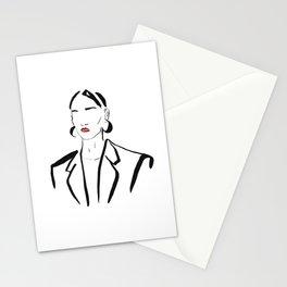 FAshion beauty Stationery Cards