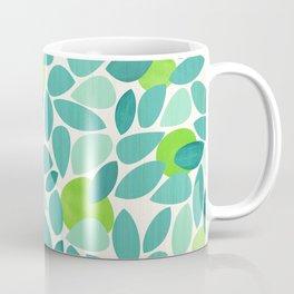 Mid Century Lime Tree Coffee Mug