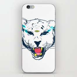 leopard tears iPhone Skin