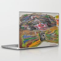 clown Laptop & iPad Skins featuring CLOWN  by Loosso