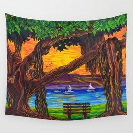 Maui Banyan Bliss Wall Tapestry