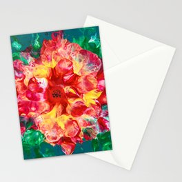 Pioneer Flower Stationery Cards