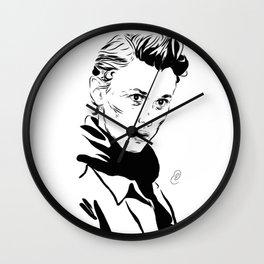 Even b&w Wall Clock