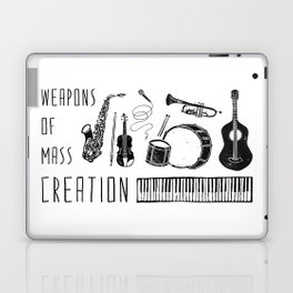 Weapons Of Mass Creation - Music Laptop & iPad Skin