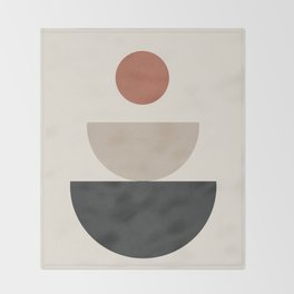 Geometric Modern Art 30 Throw Blanket