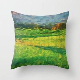 Division Landscape Throw Pillow