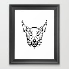Chihuahua Party Framed Art Print
