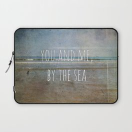 You and me, by the sea Laptop Sleeve