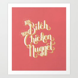 Chicken Nugget Art Print