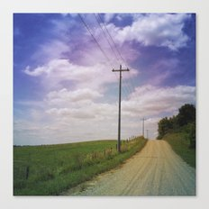 Summer Roadtrip Canvas Print