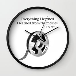 Everything I learned I learned from the movies Wall Clock