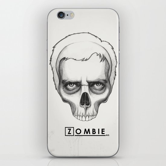 Gregory House Skull House MD Art iPhone & iPod Skin