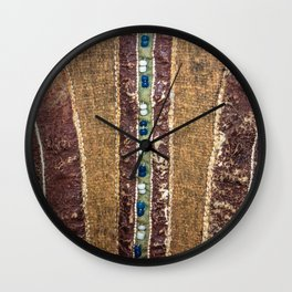 Mansi folk pattern Wall Clock