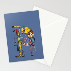 Ballerina riding Stationery Cards