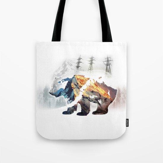 Save bears in nature Tote Bag