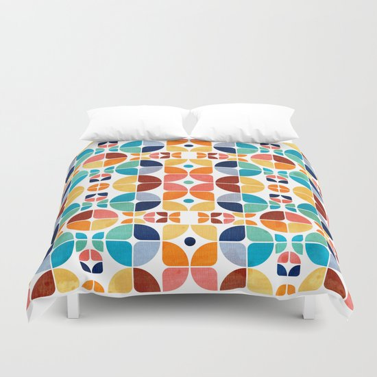 2015 Pattern Collection: Spring II Duvet Cover