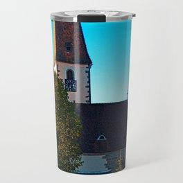 The village church of Hirschbach 2 Travel Mug