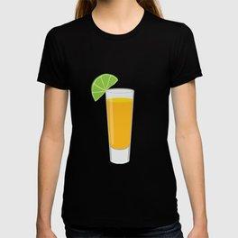 Tequila Shot Illustration T-shirt
