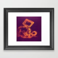 Generation Google Framed Art Print