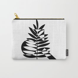Geometric leaf Carry-All Pouch