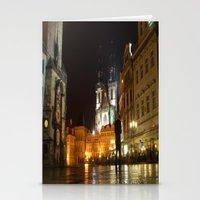 prague Stationery Cards featuring Prague by lularound