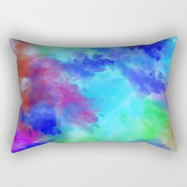 Watercolor Painting Abstract Art Rectangular Pillow