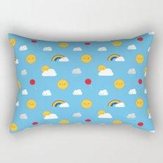 Kawaii Skies Rectangular Pillow