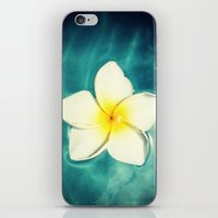 lily iPhone & iPod Skins featuring Lily by Ken Seligson
