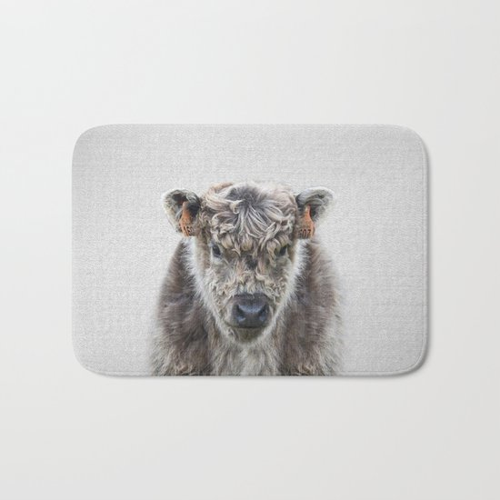 Fluffy Cow - Colorful Bath Mat
