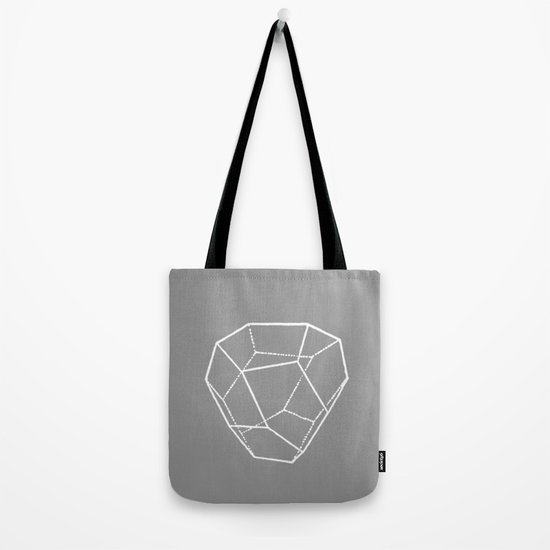 Tetrahedral Pentagonal Dodecahedron Tote Bag
