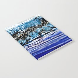 ...blurred line of horizons Notebook