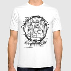 St Anne  Mens Fitted Tee White MEDIUM