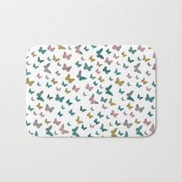 butterflies_pink Bath Mat