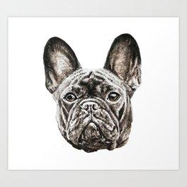 French Bulldog dog Art Print