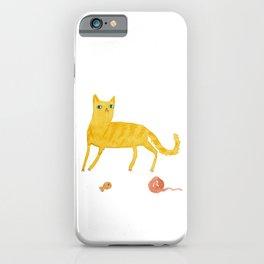 Nice Ginger Cat iPhone Case